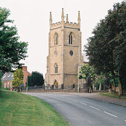 Picture of Kibworth Church in Leicestershire