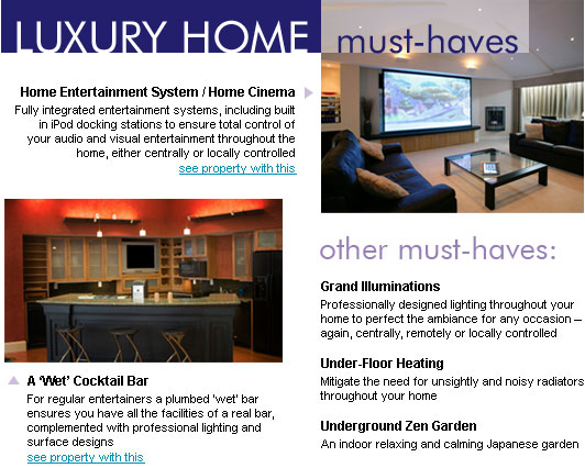 Luxury home must haves what every best dressed home for Must haves when building a new home